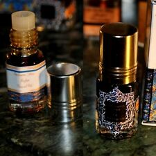 Buy Set & Save! Amber Al Oudh Mukhallat - Agar Musk 2 x 3ml Agarwood Perfume Oil