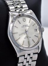 ROLEX TUDOR Prince OysterDate 75000 34mm Silver Dial Vintage Watch NO RESERVE!!!