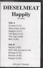 DIESELMEAT Happily CASSETTE TAPE RARE PROMO DEMO INDIE PUNK