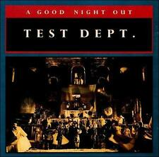 A Good Night Out by Test Dept Department (CD, 1987, Some Bizzare) UK
