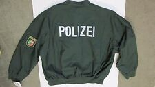 Original German Polizei Police Lightweight Jacket New with Tag Size 56 - Xlarge