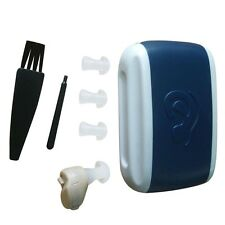 New Small In-Ear Voice Sound Amplifier Adjustable Tone Mini Hearing Ear Aid NR