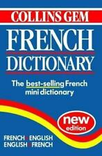 Collins Gem French Dictionary French, English English, French Allain, Jean-Fran