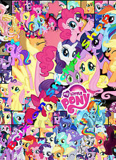 My Little Pony Kids Vinyl Decal Sheet Girls TWILIGHT LUNA MURAL stickers Bomb 1