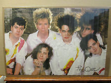 Vintage The Cure 1987 poster goth rock band music 9420