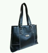 Black Laptop BagTote with side purse hold 15.4 inch  Used - Franklin Covey