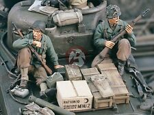 Verlinden 1/35 US Tank Riders WWII Set No.1 (2 Figures) [Resin Model kit] 1683