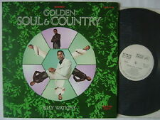 PROMO WHITE LABEL / BILLY WATKINS RECORDED IN JAPAN GOLDEN SOUL & COUNTRY