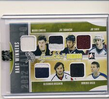 12/13 ITG Superlative Fall Expo HART WINNERS LEMIEUX SAKIC OVECHKIN JERSEY /9 *