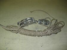 COLLECTIBLE BLOCK & TACKLE FENCE STRETCHERS WITH ROPE