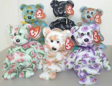 RETIRED !!  TY BEANIE BABY  2004 ASIA PACIFIC EXCLUSIVE SET OF 6 BEARS MWMT