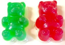 Giant Gummy Bear Mold, 3 Pack of Large Gummy Bear Molds and Recipe, Make Big Gum