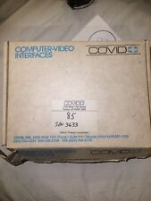 Covid EZPIX PC 85 Video Signal Converter Scan Rate Reader w/ Cables New NOS