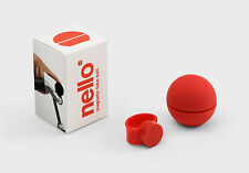Palomar Nello magetische timbre Design timbre, Magnetic Bike Bell red