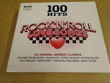 5-CD BOX / 100 HITS ROCK 'N' ROLL LOVE SONGS