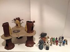 Vintage Star Wars Lot Ewok Village Taun Taun Mini Rigs Figures Kenner