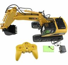 RC Excavator Remote Control Machinery Toy Kid Truck Construction Hydraulic Sound