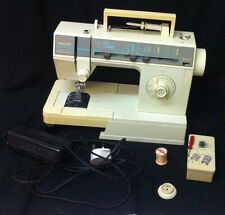 SINGER SUPER SAMBA 6 SEWING MACHINE. GOOD USED WORKING ORDER.