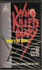 Who Killer Mary What's 'er Name? (BETA/Betamax 1986) 1971 Red Buttons