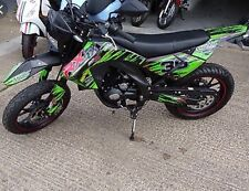 apollo orion rx50 2013 Onwards Decals Sticker Kit Green & Black