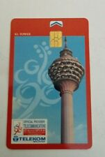 Malaysia TM KL Tower Phone Card  with Sukom 98 Logo 电话卡
