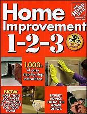 M2K The Home Depot Home Improvement 1-2-3, New