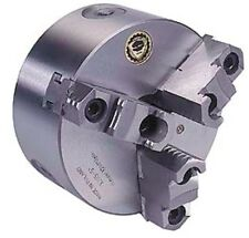 Bison 8 inch Two Piece Hard Reversible Jaws Self-Centering Lathe Chuck