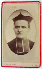 CDV PHOTO CASIMIR  JULIEN à MILLAU CURÉ ABBÉ PRETRE RELIGION CATHOLIQUE L545