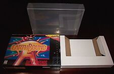 Custom EarthBound Game Box with Cardboard Insert and Plastic Protector