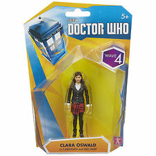 Doctor Who Wave 4 Clara Oswald In Cardigan Action Figure NEW Toys Dr Who
