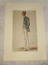 VANITY FAIR PRINT CRICKET THE DEMON BOWLER SPOFFORTH FREE  UK POSTAGE