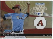 Lot of (28) Tyler Skaggs 2012 Bowman Chrome Futures Game Inserts - Diamondbacks