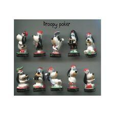 Série complète de 10 fèves Droopy poker