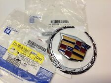 2010-2012 Cadillac SRX 2012 CTS Front Grille Crest and Wreath EMBLEM new OEM