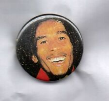 BOB MARLEY BUTTON BADGE Jamaican Reggae Singer -  Exodus - Uprising 25mm Pin