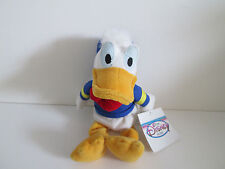 "Disney Store Donald Duck Bean Bag Plush 9"" NWT"