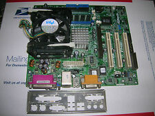 ASRock P4S61 Motherboard Intel Processor Celeron 2.4 GHz 1 GB DDR Ram I/O Panel