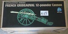 did french napoleonic 12 pounder cannon waterloo 1/6 12'' l boxed toy dragon