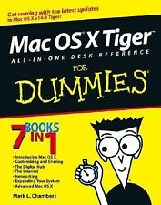 Mac OS X Tiger All-in-One Desk Reference For Dummies, Mark L. Chambers, Good Con