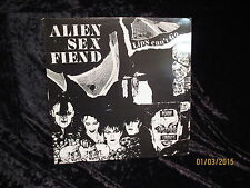"Alien Sex Fiend: Lips can´t go / Orig. 12"" -4-Track-EP / 1983 / Anagram"