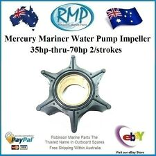 A New Water Pump Impeller Mercury Mariner Outboards 35hp-thru-70hp # 47-89983