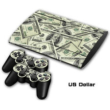 Skin Sticker Vinyl Decal Cover For Playstation 3 PS3 Super Slim CECH-4000 #0052