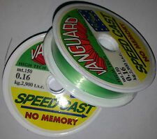 MONOFILAMENT NYLON VANGUARD SPEED CAST 0,16 MM 150 MT PAST LEDGERING NO MEMORY