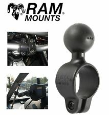 "Black RAM 1"" in Diamter Handlebar Base MOUNT Harley Davidson 1"" Ball Handle Bar"
