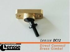 Lensse DC12 Direct Connect Brass Gimbal Steady-Cam New!