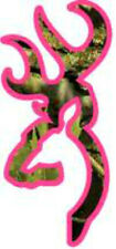 20 WATER SLIDE NAIL TRANSFER DECALS Real TREE dark pink and green camo deer
