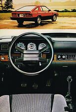 1982 Dodge CHARGER 2.2 Brochure / Catalog with Color Chart / Specifications,NOS