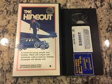 THE HIDEOUT RARE DAYTON VIDEO VHS! NOT ON DVD 1977 BANK ROBBERY DAVID STERAGO!
