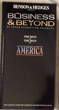 Benson & Hedges The Best of the Best of America luxury 1989 Travel Resorts