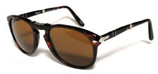 PERSOL 714 54 DARK HAVANA MARRONE SUNGLASSES SOLE PIEGHEVOLI FOLDING CUSTOM